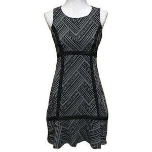 Anthropologie Tabitha Gray Black Knit Dress - 10